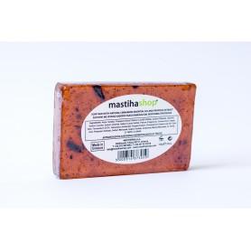 Sapun Natural cu Glicerina, Ulei Esential de Scortisoara si Extract de Propolis 100 g Mediterra