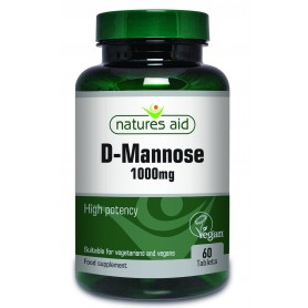 D-Mannose, 1000Mg 60tb Natures Aid