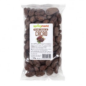Boabe crude de cacao 100gr.