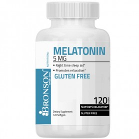 Melatonina, 5Mg 120cps Bronson