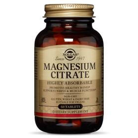 Citrate Magnesium 200mg 60s SOLGAR