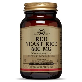 RED YEAST RICE veg.caps 60s SOLGAR