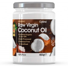 Ulei de Cocos Raw Organic Virgin, 453 ML
