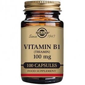 VITAMIN B-1 100mg veg. 100cps SOLGAR