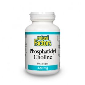 Phosphatidyl Choline, Fosfatidil Colina 420Mg 90 capsule moi