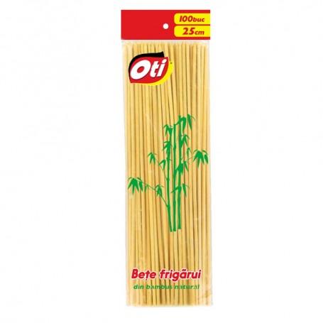 Bete Frigarui din Bambus, 100 bucati