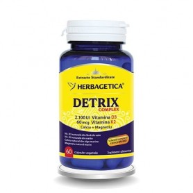 Detrix Complex, 30 capsule vegetale