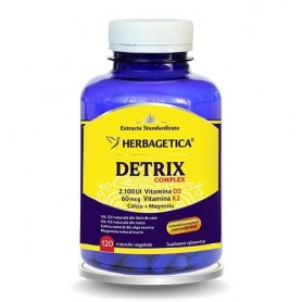 Detrix Complex, 120 capsule vegetale