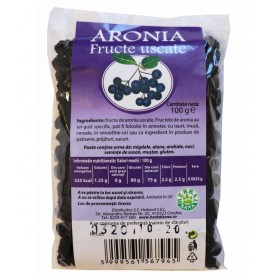 Aronia, Fructe Uscate 100g