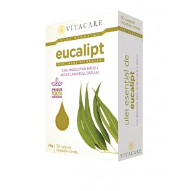 Ulei Esential de Eucalipt, 30 capsule VitaCare
