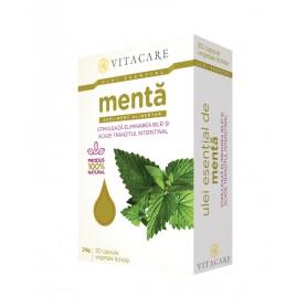 Ulei Esential de Menta, 30 capsule VitaCare