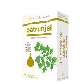 Ulei Esential de Patrunjel, 30 capsule VitaCare