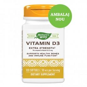Vitamina D3 2.000UI 120 capsule Secom