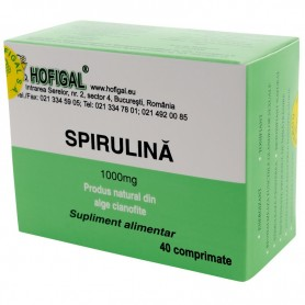 SPIRULINA 1000MG 40CPR