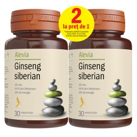 GINSENG SIBERIAN 30 CP (1+1 GRATIS) ALEVIA