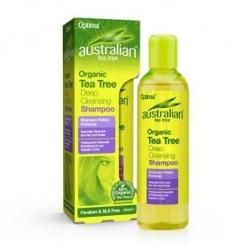 Sampon Curatare Profunda cu Tea Tree 100% Organic