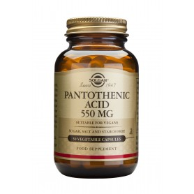 PANTOTHENIC ACID 550mg veg.50cps SOLGAR