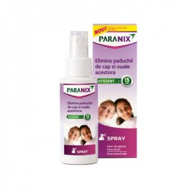 Paranix Spray 100ml + Pieptene Gratuit