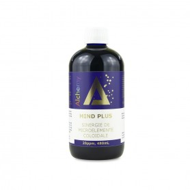 Mind Plus, sinergie de Ag, Pt si Au Coloidal 20ppm Pure Alchemy