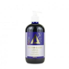 Silver Clean - Sapun lichid natural, cu Au si Ag Pure Alchemy