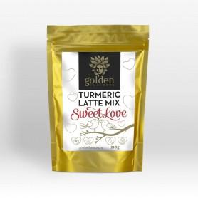 Turmeric Latte Mix Sweet Love Golden Flavours