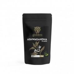 Ashwagandha Pulbere 100% naturala, 150g Golden Flavours