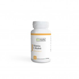 Vitamina C Alcalina 700mg Bioroots 90 capsule vegetale 63g