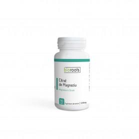 Citrat de magneziu 550mg Bioroots 90 capsule vegetale 49,5g