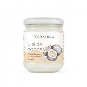Ulei de Cocos Presat la Rece 200 ml Terralura