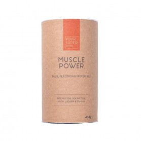 MUSCLE POWER Organic Superfood Protein Mix 400g Your Super