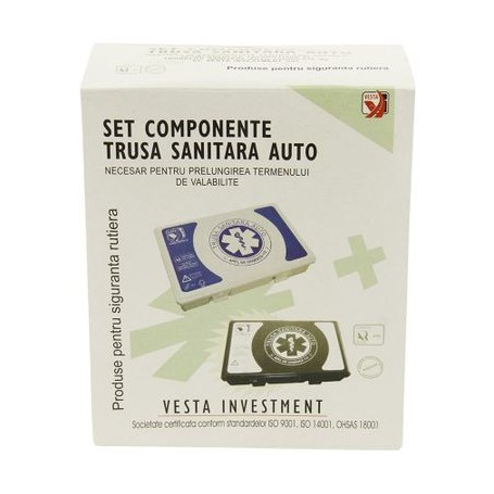 Kit Inlocuire Trusa Medicala Auto