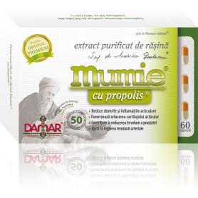 EXTRACT PURIFICAT DE RASINA MUMIE CU PROPOLIS - 60 CPS DAMAR