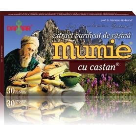 EXTRACT PURIFICAT DE RASINA MUMIE CU CASTAN - 30 TB DAMAR