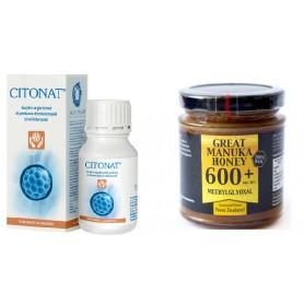 Citonat 150cpr + Miere de Manuka MG 600+, 250g