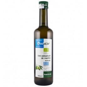 Ulei de masline Bio extravirgin presat la rece, origine Grecia, Crudolio - 500 ml