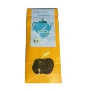 ceai verde si iasomie eco 70gr longevita