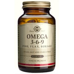 Omega 3-6-9 softgels 60s SOLGAR