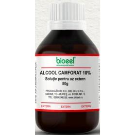 Alcool Camforat, 10% 80g Bioeel