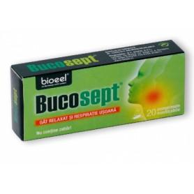 Bucosept pentru Dureri de Gat, 20cpr Bioeel