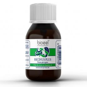 Ulei de Ricin cu Vitamina A, Ricinus Plus 80g Bioeel