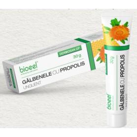 Unguent Galbenele cu Propolis Dermosan, 30g Bioeel
