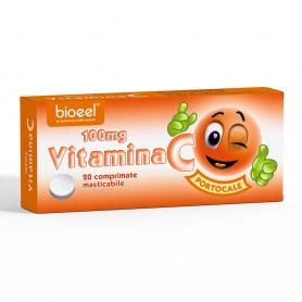 Vitamina C, 100Mg Portocale 20cpr Bioeel