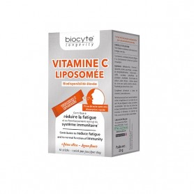 Vitamina C Lipozomala, 10 plicuri Biocyte
