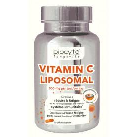 Vitamina C Lipozomala, 30cps Biocyte