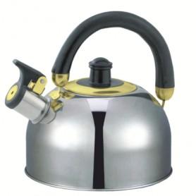 Ceainic Inox cu Fluier, 2.5L