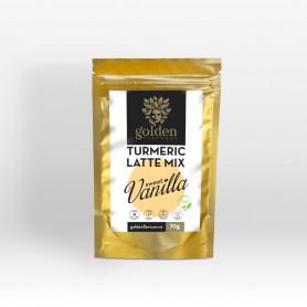 Turmeric Latte Mix Sweet Vanilla, 70g Golden Flavours