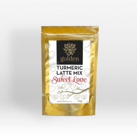 Turmeric Latte Mix Sweet Love, 70g Golden Flavours