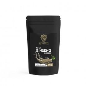 Ginseng Panax, Pulbere 100% Naturala, 70g