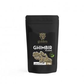 Ghimbir Pulbere, 100% Naturala 70g