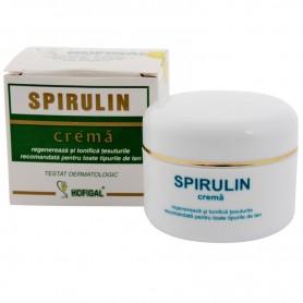Spirulin crema pentru toate tipurile de ten 50ml